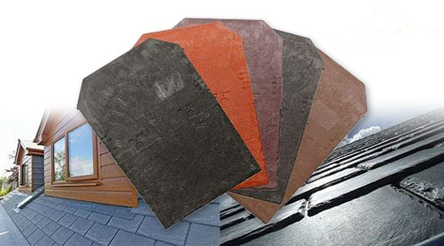conservatory roof slate tiles